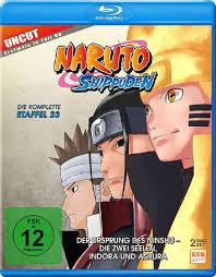 Naruto Shippuden - Staffel 23: Der Ursprung des Ninshu - Die zwei Seelen,  Indora und Ashura (Folgen 679-689) [Blu-ray]: Amazon.de: Date, Hayato: DVD  & Blu-ray