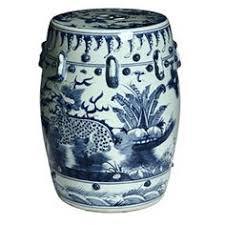 chinese garden stool. Simple Chinese Blue And White Kylin Chinese Porcelain Stool China On Garden I
