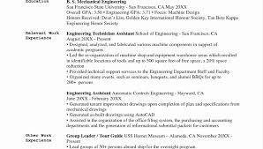 Download Beautiful Chief Mechanical Engineer Sample Resume B4
