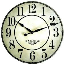 wall clocks for kitchens best kitchen clock images on large black iron
