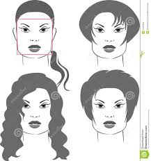 Square Face Shape Hairstyles Haircuts For Square Face Shapes Stock Photography Image 21535692