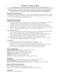 Cover Letter For Jobs Abroad Cover Letter