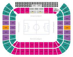 Russia Spartak Stadium Tickets Information Seating Chart