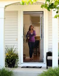 front screen doorPhotos of ODL Brisa Retractable Screen Doors for front doors