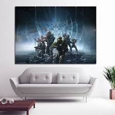 halo 5 guardians game block giant wall
