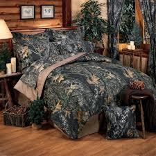 Camouflage Bedding: Cabin Place