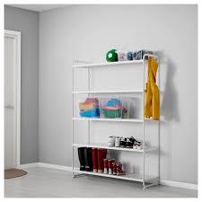 MULIG shelf unit, white Width: 47 1/4