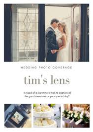 White Wedding Photography Flyer Templates By With Wedding Brochure S ...