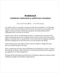 Wedding Outline Template 6 Free Word Pdf Document Downloads