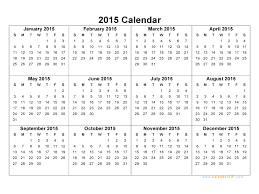 Annual Calendar 2015 Free Yearly Calendar Templates 2015 Magdalene Project Org