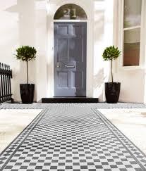 black and white tile floor. Black And White Tile Floor O