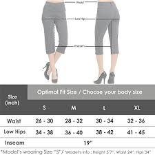Viv Collection Size Chart Viv Collection New Womens Straight Fit Trouser Capri Pants Large Navy