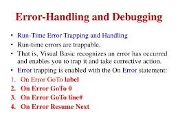 Error-Handling ...