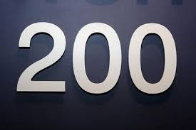 Image result for 200 number