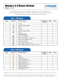 Pull Up Workout Chart Workout Routine For A Short Fitness Exercise
