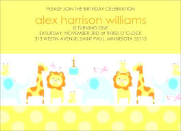1st Birthday Party Invitation Template Zoo Birthday Invitations Best P A R T Y Images On Party