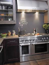 Chalkboard Paint Backsplash Exterior