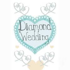 60th anniversary gifts diamond anniversary gifts Diamond Wedding Cards And Gifts order a diamond wedding anniversary card Wedding Anniversary Gifts by Year
