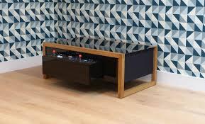 a classic arcade machine table