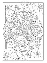 Small Picture Free coloring page coloring adult art nouveau style peacock