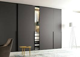 ghost sliding door is available in plain glass or mirror modern wardrobe doors uk