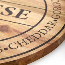 salt pepper fromage round wooden cheese board 40cm in ideas 17