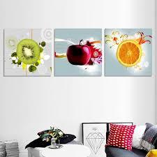 new 3pcs canvas art kitchen wall art fruit juice kitchen decor oil painting on canvas prints