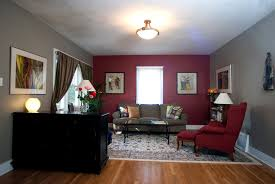 How To Decorate A Living Room With A Red Accent Wall