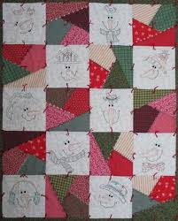 Hand Embroidery quilt patterns to make beautiful gifts and family ... & ... Snow Crazy Quilt Pattern by Turnberry Lane Patterns Adamdwight.com