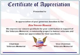 Appreciation Certificates Wording Magnificent Free Editable Certificate Of Appreciation Wording 48