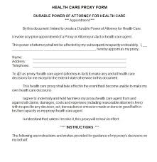 Proxy Agreement Template 23 Images Of Proxy Document Template ...