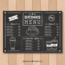 Free Food Menu Template Awesome Coffee Menu Vectors Photos And PSD Files Free Download
