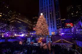 Rockefeller Christmas Tree Lighting 2018 Photos The 2018 Rockefeller Center Christmas Tree Lighting