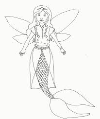 Coloring Pages For Teenagers Difficult Fairy Mermaid 7d 9 Futuramame