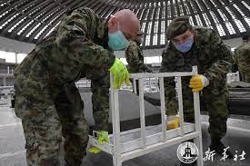 กองทัพเซอร์เบียผุดรพ.ชั่วคราว 3 พันเตียง ตามคำแนะนำแพทย์จีน