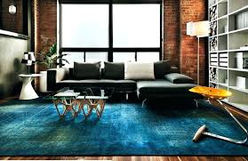blue rugs for bedroom view in gallery rug a modern living room royal and carpet home floor