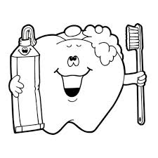 Small Picture Dental Health Coloring Pages Miakenasnet