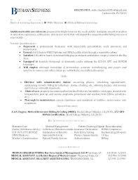 Entry Level Medical Billing And Coding Resume Medical Billing And Coding Resume Sample Medical Coding Resume
