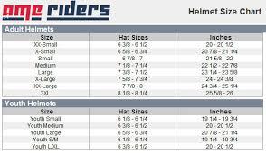 Racequip Helmet Size Chart Youth Helmets Size Chart Best Helmet 2017