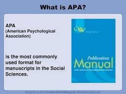 Apa Formatting And Style Guide Ppt Download