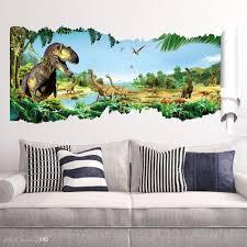 cartoon 3d dinosaur wall sticker for boys room child art decor inside trendy gold coast 3d on 3d dinosaur wall art decor with gallery of gold coast 3d wall art view 4 of 15 photos