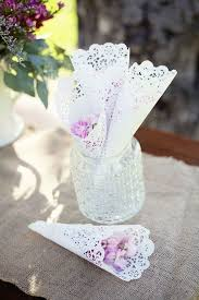 How To Make Paper Cones For Flower Petals Lace Doily Petal Cones Cute Diy Idea Fill It With Candy Wrapped