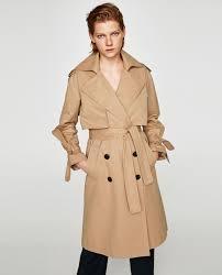 long trench coat zara