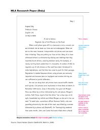 029 Essay Example Mla Format Essays Thatsnotus