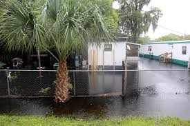 more than a dozen houses and businesses faced severe flooding in southwest pasco county this weekend