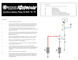 thesamba com bay window bus view topic dual battery diagram image have been reduced in size click image to view fullscreen