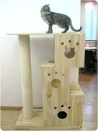 cat tree cardboard s easy diy house