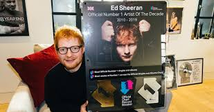 Uk Album Charts 2010 Ed Sheeran Crowned Uks Official Number 1 Artist Of The Decade