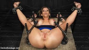 Sara jay bdsm device bondage