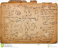 science on old paper stock photography image  royalty stock photo